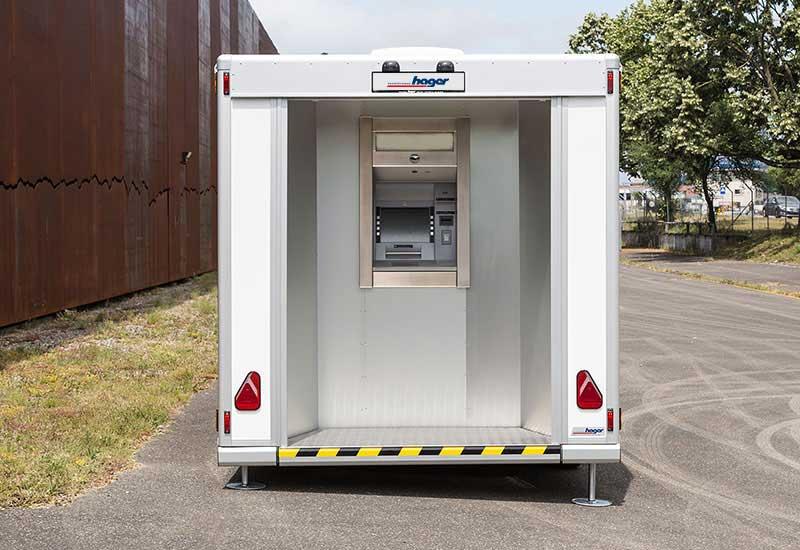 Mobiler Bancomat vorne